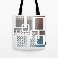 half life Tote Bags featuring HALF LIFE by bsvc