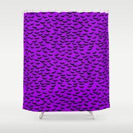 Bats in the Belfry-Purple Shower Curtain
