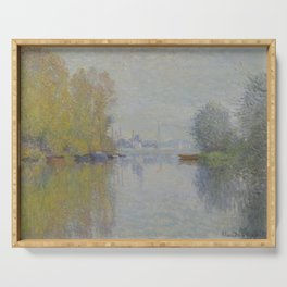 Autumn on the Seine, Argenteuil Serving Tray