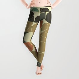 Abstract Geometric Artwork 08 Leggings