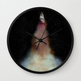 BlastOff Wall Clock