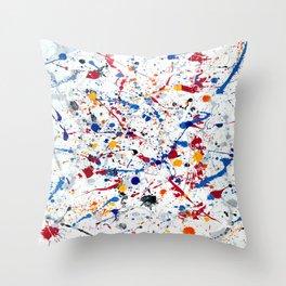 Exhilaration Throw Pillow