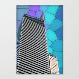 Gran Via Alien Wiew Canvas Print