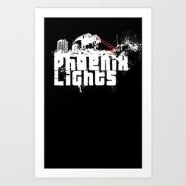 Phoenix Lights Art Print