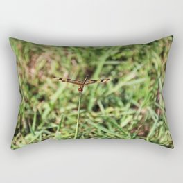 The Drifting Dragonfly Rectangular Pillow