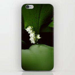 Dramatic Lilly of the Valley iPhone Skin