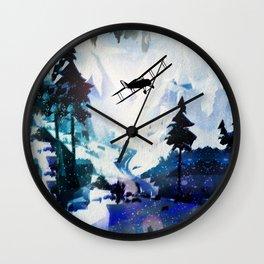 Yukon Ho! Wall Clock