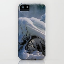 icicle curve iPhone Case