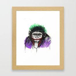 Why So Simian? Framed Art Print