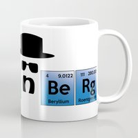 heisenberg Mugs featuring Heisenberg by Solar Designs