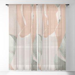 Summer Day II Sheer Curtain