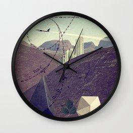 Distant Lands Wall Clock