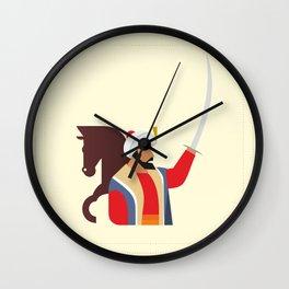 Minimal Ottoman Wall Clock