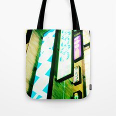 Neon Glow Tote Bag