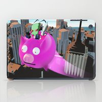 invader zim iPad Cases featuring Invader Zim by inusualstuff