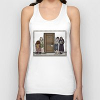 aragorn Tank Tops featuring Rise and Shine by wolfanita