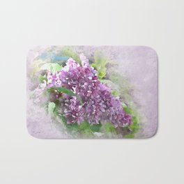 Soft Lilac Bath Mat