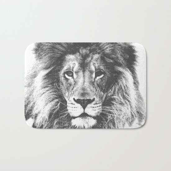 lion Bath Mat