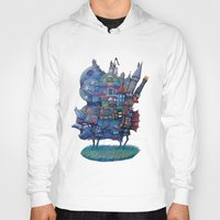 narnia Hoodies featuring Fandom Moving Castle by nokeek