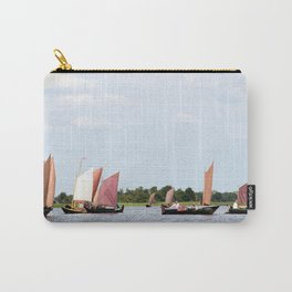 Summer sailing on Dutch Frisian lake Carry-All Pouch