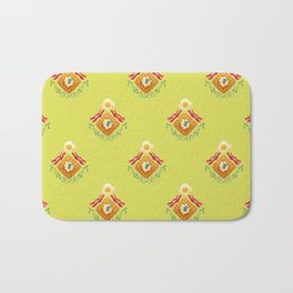 Waffles and Bacon (Grass is Greener on the Otherside) Bath Mat