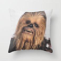 Chewbacca - StarWars - Pantone Swatch Art Throw Pillow