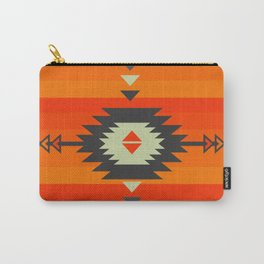 Southwestern in orange and red Carry-All Pouch