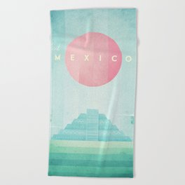 Mexico Beach Towel