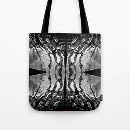 new silver Tote Bag