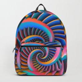 Opposing Spirals Backpack