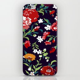 VAMPIRE WEEKEND FLORAL VECTOR iPhone Skin