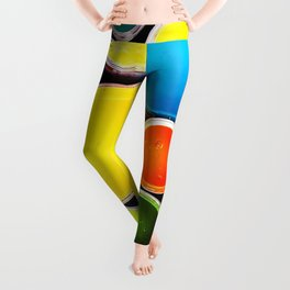 Colorful Art Paint Leggings