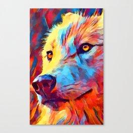 Wolf Portrait 3 Canvas Print