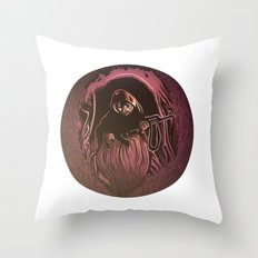 Azazel Throw Pillow