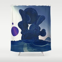 U AND ME FORGOTTEN Shower Curtain