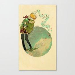 "Revisited ""spore""  Canvas Print"