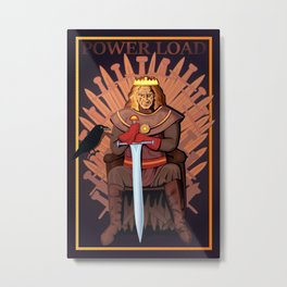 Power Load Metal Print