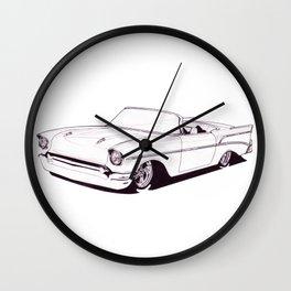 1957 Custom Belair Wall Clock