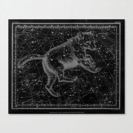 Ursa Major (Black) Canvas Print