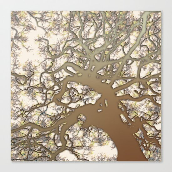 Tree (abstract) Canvas Print