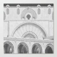 casablanca Canvas Prints featuring Casablanca by LaCatrina.it