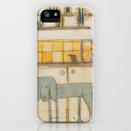sproshi wants to be the dish washer :) iPhone Case