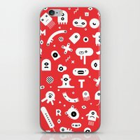 monsters iPhone & iPod Skins featuring Monsters by Vickn