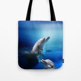 Dolphin Delight Tote Bag