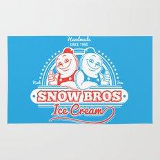 Snow Bros Ice Cream Rug