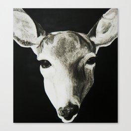 Nature Drawing: Deer Canvas Print