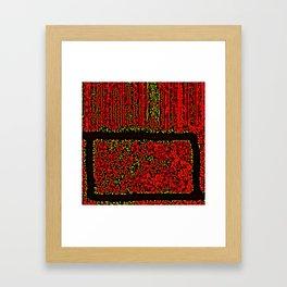 LABYRINTHE Framed Art Print