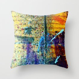 Easel Abstract 8 Throw Pillow