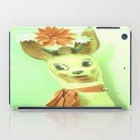 reindeer iPad Cases featuring Reindeer by Vintage  Cuteness