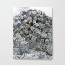 Aluminium Cubes ... Metal Print
